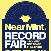 Near Mint Record Fair at Pop Brixton on Saturday 14th March 2020