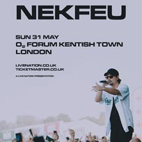Nekfeu at The Forum on Sun 31st May 2020