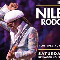 Nile Rodgers & Chic at Kenwood House on Saturday 20th June 2020