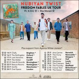 Nubiyan Twist at The Forge on Friday 24th September 2021