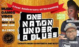 One Nation Under A Blues at The Ritzy on Friday 5th November 2021