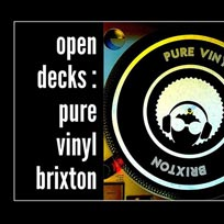 Open Decks at Pure Vinyl on Thursday 13th February 2020