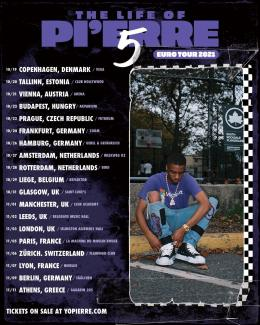 Pi'erre Bourne at Magazine London on Wednesday 3rd November 2021