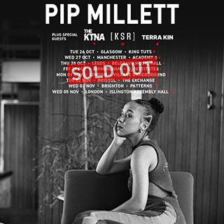 Pip Millett at Village Underground on Monday 1st November 2021