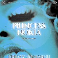 Princess Nokia at EartH on Friday 20th March 2020