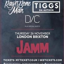 Rag N Bone Man Presents... at Brixton Jamm on Thursday 26th November 2015
