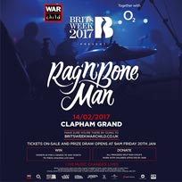Rag'n'Bone Man at Clapham Grand on Tuesday 14th February 2017