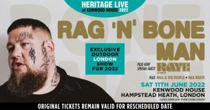 Rag'n'Bone Man at Kenwood House on Saturday 11th June 2022