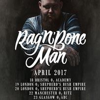 Rag'n'Bone Man at Shepherd's Bush Empire on Thursday 20th April 2017
