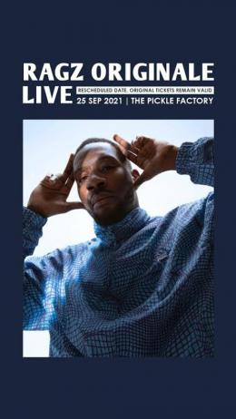 Ragz Originale at Pickle Factory on Saturday 25th September 2021