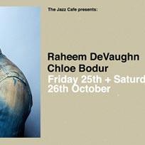 Raheem DeVaughn at Jazz Cafe on Saturday 26th October 2019