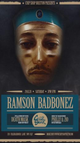 Ramson Badbonez at Chip Shop BXTN on Saturday 29th February 2020