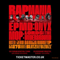 Rap Mania at The Forum on Saturday 4th April 2020