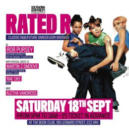 Rated R at Book Club on Saturday 18th September 2021