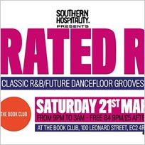 Rated R at Book Club on Saturday 21st March 2020