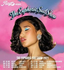 Raye at Shepherd's Bush Empire on Friday 12th November 2021