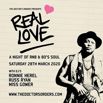 Real Love at Ace Hotel on Saturday 28th March 2020