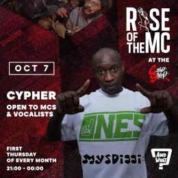 Rise of the MC at Chip Shop BXTN on Thursday 7th October 2021