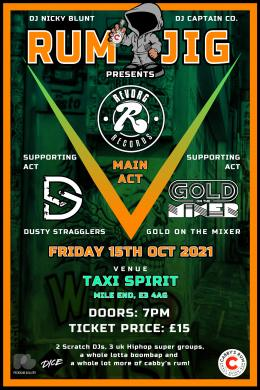 Rum Jig at Taxi Spirit on Friday 15th October 2021