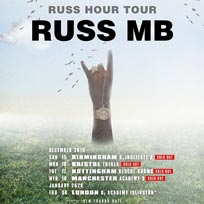 Russ MB at Islington Academy on Thursday 30th January 2020