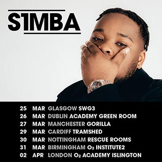 S1mba at Islington Academy on Saturday 2nd April 2022