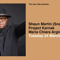 Shaun Martin (Snarky Puppy) at Jazz Cafe on Tuesday 24th March 2020