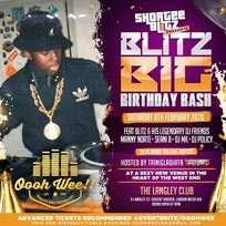 Shortee Blitz Big Birthday Bash  at LIBRARY members club on Friday 31st January 2020