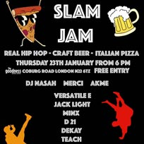 Slam Jam at The Goodness Brew Co on Thursday 23rd January 2020