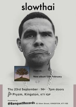 Slowthai at PRYZM Kingston on Thursday 23rd September 2021