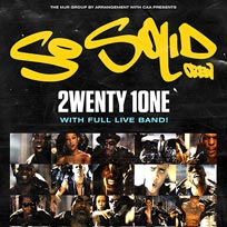 So Solid Crew at The Forum on Friday 13th March 2020