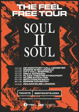 Soul II Soul at The Roundhouse on Friday 16th December 2022