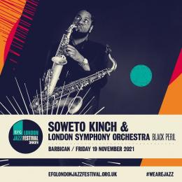 Soweto Kinch + London Symphony Orchestra at Barbican on Friday 19th November 2021