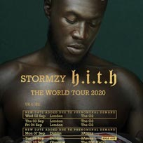 Stormzy at The o2 on Wednesday 2nd September 2020