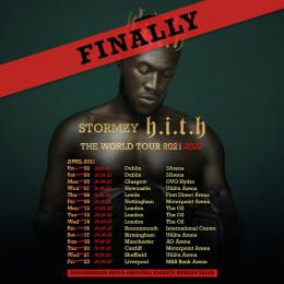 Stormzy at The o2 on Tuesday 29th March 2022