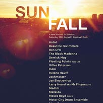 Sunfall Festival 2017 at Brockwell Park on Saturday 12th August 2017