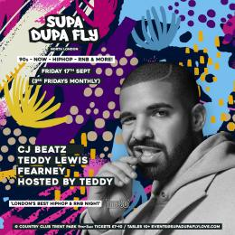 SUPA DUPA FLY X NORTH LONDON at Country Club Trent Park on Friday 17th September 2021