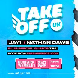 Take Off UK  at Boxpark Wembley on Sunday 3rd October 2021