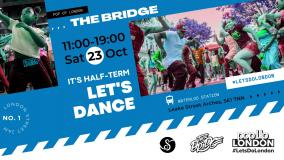 The Bridge - free Street Jam at Leake St Tunnel on Saturday 23rd October 2021