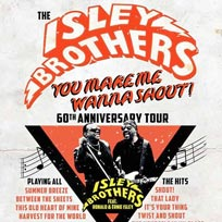 The Isley Brothers at Hammersmith Apollo on Wednesday 1st July 2020