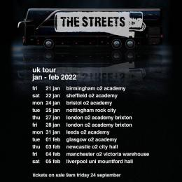 The Streets at Brixton Academy on Friday 28th January 2022
