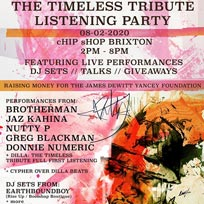 Dilla: The Timeless Tribute Listening Party at Chip Shop BXTN on Saturday 8th February 2020