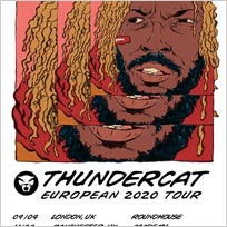 Thundercat at The Roundhouse on Thursday 9th April 2020