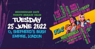 TLC at Shepherd's Bush Empire on Tuesday 28th June 2022