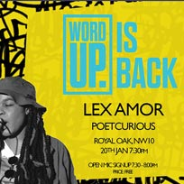 Word Up at The Royal Oak on Monday 20th January 2020