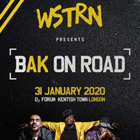 WSTRN at The Forum on Friday 31st January 2020