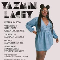 Yazmin Lacey at Omeara on Thursday 6th February 2020