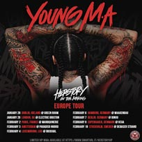 Young M.A. at Electric Brixton on Wednesday 29th January 2020