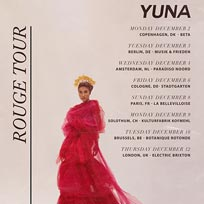 Yuna at Electric Brixton on Thursday 12th December 2019