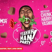 YeahhhMan - El Amor Valentines Special at Omeara on Friday 14th February 2020