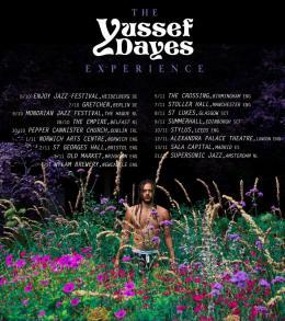 Yussef Dayes at Alexandra Palace on Friday 12th November 2021